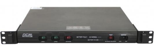 Источник бесперебойного питания Powercom KIN-1000AP RM (1U) USB источник бесперебойного питания ippon back power pro lcd 600