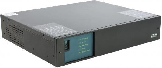 Источник бесперебойного питания Powercom KIN-1200AP RM (2U) USB и RS-232 ибп powercom kin 1200ap rm 2u usb и rs 232
