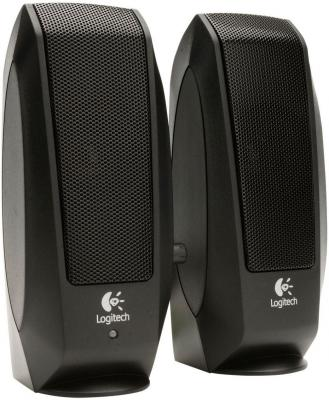 Колонки Logitech S120 black Oem (980-000010) колонки logitech multimedia speakers z333