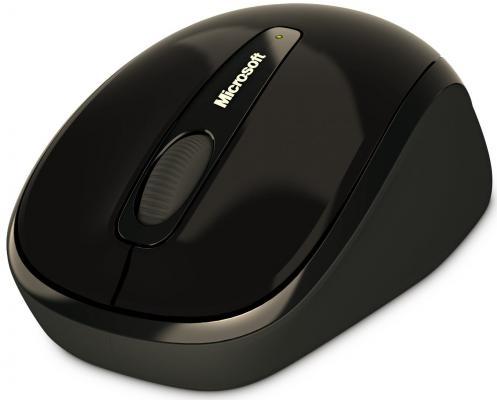Мышь беспроводная Microsoft Wireless Mobile 3500 чёрный USB GMF-00292