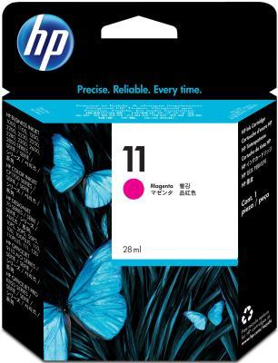Картридж HP C4837AE ( №11),пурпурный ,для Hp Business InkJet 2800 картридж hp inkjet cartridge 85 yellow c9427a