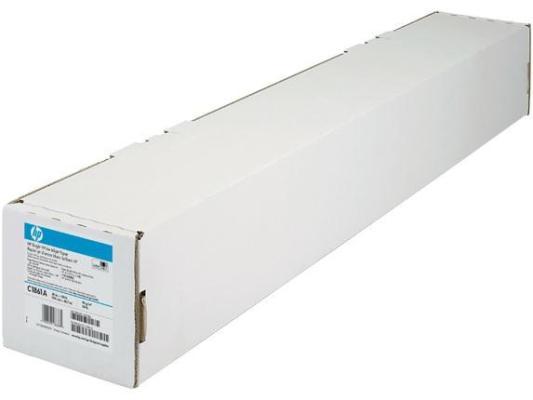 Бумага HP (Q1444A) ярко-белая для струйной печати – 841 мм x 45,7 м (33,11 д. x 150 ф.) бумага для принтера hp глянцевая профессиональная бумага hp для струйной печати – 50 листов a4 210 x 297 мм