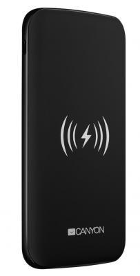 Фото - Внешний аккумулятор Power Bank 8000 мАч Canyon CNS-TPBW8B черный внешний аккумулятор power torch 8000 мач глянцевый белый
