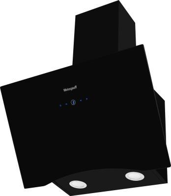 Фото - Вытяжка каминная Weissgauff Assy 60 TC черный управление: сенсорное (1 мотор) вытяжка каминная weissgauff yota 50 pb белый управление кнопочное 1 мотор