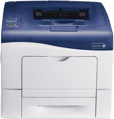 Принтер лазерный цветной Xerox Phaser 6600DN A4 принтер лазерный xerox phaser 6700dn