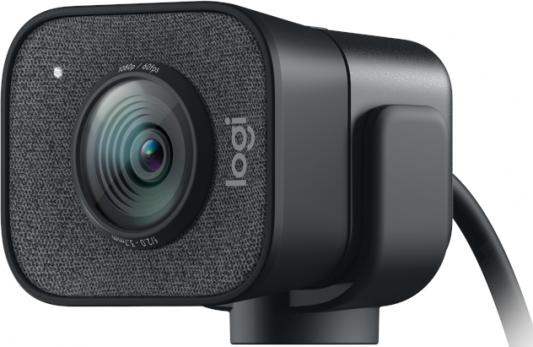 Фото - Камера Web Logitech StreamCam GRAPHITE черный USB3.1 с микрофоном web камера logitech brio черный оранжевый [960 001106]