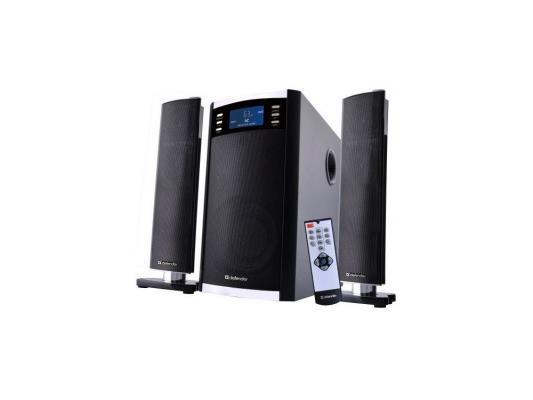 Акустическая система Defender 2.1 Sirocco X65 Pro 35W+2*15W, пульт ДУ, USB, SD (65157)