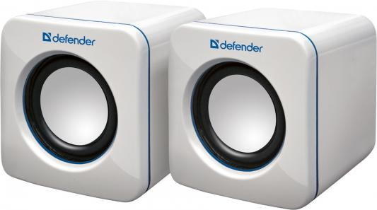 Акустическая система Defender 2.0 SPK-530 White USB 2x2W, USB (65531) defender spk 530 usb black