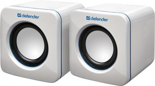 Акустическая система Defender 2.0 SPK-530 White USB 2x2W, USB (65531) акустическая система defender 2 1 sirocco x65 pro 35w 2 15w пульт ду usb sd 65157