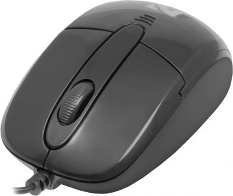 цена на Мышь проводная DEFENDER Optimum MS-130 чёрный USB 52130