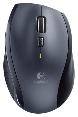 Купить со скидкой Мышь беспроводная Logitech M705 чёрный серебристый USB 910-001949