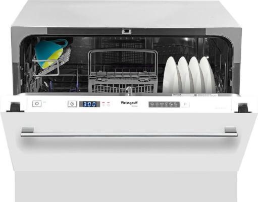 Посудомоечная машина Weissgauff BDW 4106 D серебристый