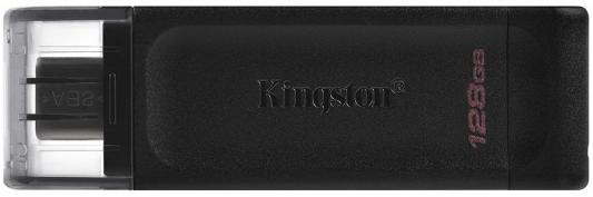 Фото - Флешка 128Gb Kingston DataTraveler 70 USB Type-C черный usb flash накопитель 128gb kingston datatraveler 70 dt70 128gb usb type c черный