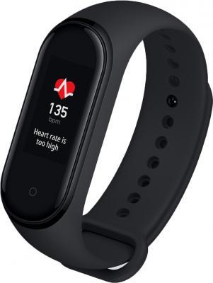 Фитнес-трекер Xiaomi Mi Band 4 NFC AMOLED корп.:черный рем.:черный (MGW4059RU(XMSH08HM))