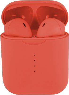 Гарнитура вкладыши Redline nanoBeats Color BHS-14 оранжевый беспроводные bluetooth (в ушной раковине)