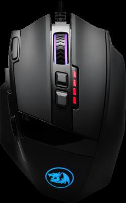 Фото - НОВИНКА. Проводная игровая мышь Sniper RGB,10 кнопок,12400 dpi мышь игровая redragon invader rgb 8 кнопок 10000 dpi 78332