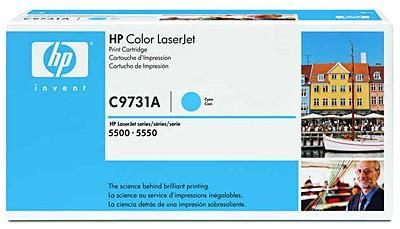 Тонер-картридж HP C9731A cyan for Color LaserJet 5500