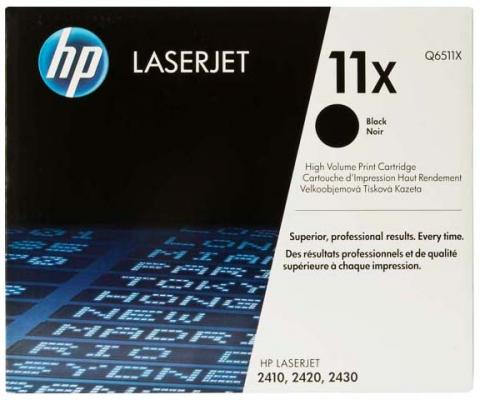 Тонер-картридж HP Q6511X for LJ 2410/2420/2430 (12000 pages) q3955 60003 q3955 60001 q6507 60001 for hp lj 2400 2410 2420 2430 formatter board logic main board mainboard mother board