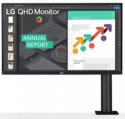 Монитор 27 LG 27QN880-B (27QN880-B.ARUZ) монитор lg 27qn880 b black