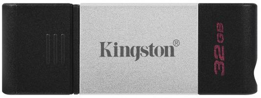 Фото - Флешка 32Gb Kingston DT80 USB 3.2 черный usb флешка leef ibridge 3 32gb черный