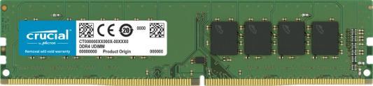 Оперативная память 32Gb (1x32Gb) PC4-25600 3200MHz DDR4 UDIMM CL22 Crucial CT32G4DFD832A оперативная память 32gb 1x32gb pc4 25600 3200mhz ddr4 dimm cl22 patriot psd432g32002