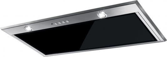 Вытяжка встраиваемая Faber Inca LUX GLASS EV8 X/BK A52 черный управление: сенсорное (1 мотор) встраиваемая вытяжка faber in nova comfort x a90