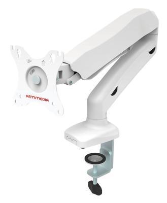 Фото - Кронштейн для мониторов Arm Media LCD-T21w белый 15-32 макс.6.5кг настольный поворот и наклон верт.перемещ. arm media lcd t21w белый