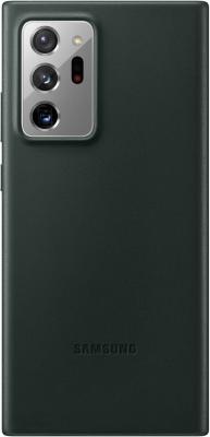 Фото - Чехол (клип-кейс) Samsung для Samsung Galaxy Note 20 Ultra Leather Cover зеленый (EF-VN985LGEGRU) чехол клип кейс samsung galaxy note 20 ultra silicone cover белый ef pn985twegru