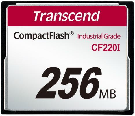 Фото - Промышленная карта памяти CompactFlash Transcend 220I, 256 Мб SLC, темп. режим от -40? до +85? промышленная карта памяти compactflash transcend 220i 1 гб slc темп режим от 40 до 85