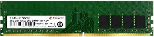 Фото - Оперативная память 8Gb (1x8Gb) PC4-21300 2666MHz DDR4 DIMM ECC CL19 Transcend TS1GLH72V6B оперативная память 8gb 1x8gb pc4 21300 2666mhz ddr4 dimm cl19 patriot psd48g266681
