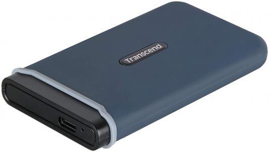Фото - Портативный твердотельный накопитель Transcend ESD350C, USB 3.1 gen.2 / USB Type-C / USB Type-A, OTG, 960 Гб портативный ssd transcend esd370c 500gb usb 3 1 g2 type c ts500gesd370c