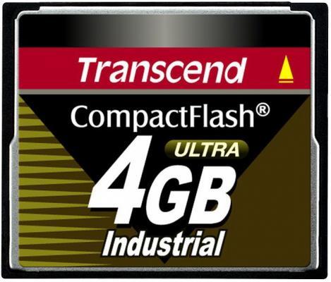 Фото - Промышленная карта памяти CompactFlash Transcend 100I, 4 Гб SLC, темп. режим от -40? до +85? промышленная карта памяти compactflash transcend 220i 1 гб slc темп режим от 40 до 85