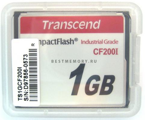 Фото - Промышленная карта памяти CompactFlash Transcend 200I, 1 Гб SLC, темп. режим от -40? до +85? промышленная карта памяти compactflash transcend 220i 1 гб slc темп режим от 40 до 85