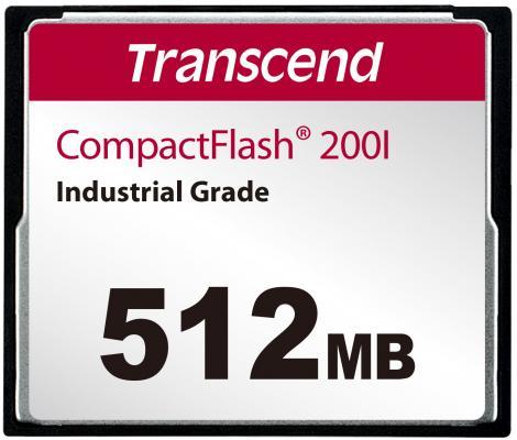 Фото - Промышленная карта памяти CompactFlash Transcend 200I, 512 Мб SLC, темп. режим от -40? до +85? промышленная карта памяти compactflash transcend 220i 1 гб slc темп режим от 40 до 85