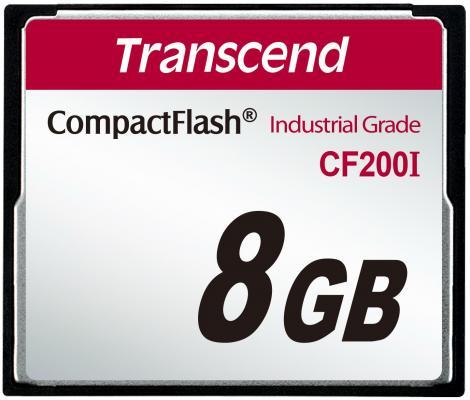 Фото - Промышленная карта памяти CompactFlash Transcend 200I, 8 Гб SLC, темп. режим от -40? до +85? промышленная карта памяти compactflash transcend 220i 1 гб slc темп режим от 40 до 85