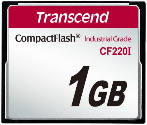 Фото - Промышленная карта памяти CompactFlash Transcend 220I, 1 Гб SLC, темп. режим от -40? до +85? промышленная карта памяти compactflash transcend 220i 1 гб slc темп режим от 40 до 85