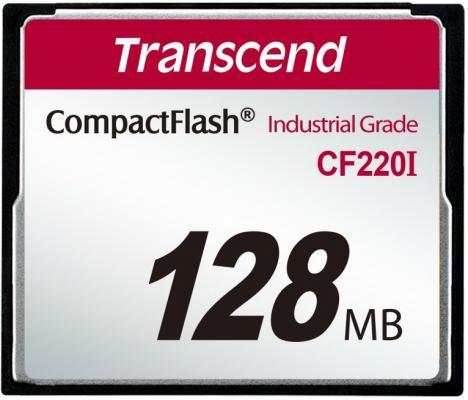 Фото - Промышленная карта памяти CompactFlash Transcend 220I, 128 Мб SLC, темп. режим от -40? до +85? промышленная карта памяти compactflash transcend 220i 1 гб slc темп режим от 40 до 85
