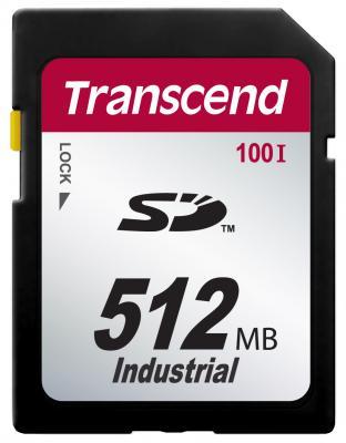 Фото - Промышленная карта памяти SD Transcend 100I, 512 Мб SLC, темп. режим от -40? до +85? промышленная карта памяти compactflash transcend 220i 1 гб slc темп режим от 40 до 85