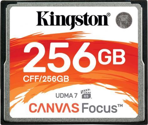 Фото - Карта памяти Compact Flash Kingston Canvas Focus, 256 Гб карта памяти compact flash kingston canvas focus 128 гб