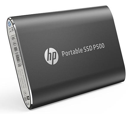Фото - Портативный твердотельный накопитель HP P500, USB 3.1 gen.2 / USB Type-C / USB Type-A, OTG, 500 Гб, R350/W210, Черный портативный ssd hp p500 1tb usb 3 1 g2 type c син 1f5p6aaabb