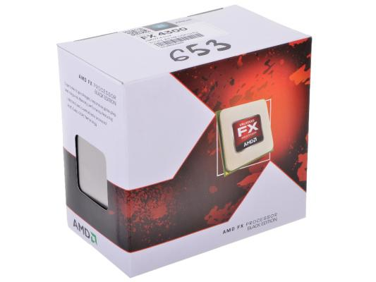 Процессор AMD Desktop FX-Series X4 4300 <SocketAM3> {3.8GHz,8MB,95W} Box amd fx series fx 8300 fx8300 3 3 ghz eight core 8m processor socket am3 fd8300wmw8khk cpu 95w fx 8300
