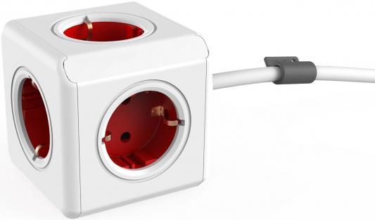 Фото - Разветвитель Allocacoc Extended 3 м 5 розеток разветвитель allocacoc powercube extended usb серый