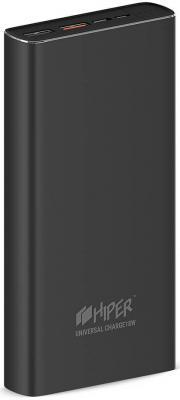 Внешний аккумулятор Power Bank 20000 мАч HIPER MPS20000 серый