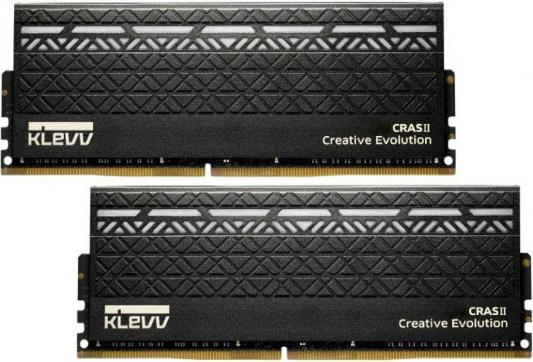 Фото - Оперативная память 16Gb (2x8Gb) PC4-21300 2666MHz DDR4 DIMM CL15 KLEVV KM4Z8GX2N-2666-1 оперативная память 16gb 2x8gb pc4 21300 2666mhz ddr4 dimm cl17 patriot pvr416g266c5kw