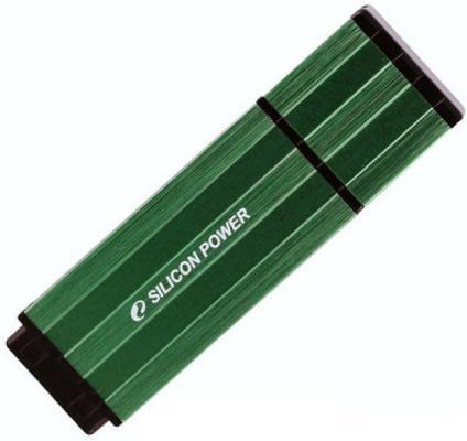 Фото - 8GB USB-флэш накопитель Silicon Power Ultima110 зеленый игрушка для собак уют шлепанцы цвет зеленый 15 5 x 6 см