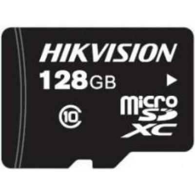 Фото - 128GB Карта памяти MicroSDXC Hikvision P1 д/видеонаблюдения Class 10 UHS-I V30 eTLC 3000 циклов видеорегистратор для видеонаблюдения hikvision hiwatch ds h116g