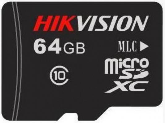 Фото - 64GB Карта памяти MicroSDXC Hikvision L2 д/видеонаблюдения Class 10 UHS-I V30 без адапт. видеорегистратор для видеонаблюдения hikvision hiwatch ds h116g
