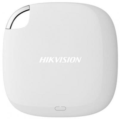 Фото - 960GB Внешний SSD-накопитель USB3.1 Type-C Hikvision T100I белый 3г/гар 1920gb внешний ssd накопитель usb3 1 type c hikvision t100i розово золотой 450mb s 3г гар