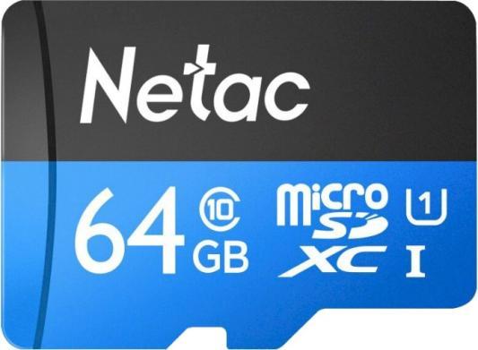 Фото - Флеш карта microSDHC 64GB Netac P500 <NT02P500STN-064G-S> (без SD адаптера) 80MB/s карта памяти netac nt02p500stn 016g s