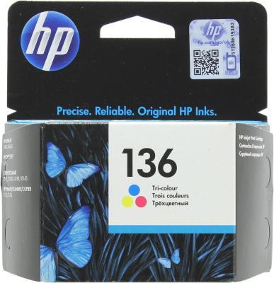 Картридж EasyPrint IH-9361 №136 для HP Deskjet 5443/D4163/Photosmart 2573/C3183/C4183/D5163/PSC 1513/1513S/Officejet 6313, цветной